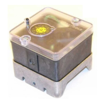 """HGP-G 1/4"""" NPT Manual Reset SPDT High Gas Pressure Switch, 8-35"""" WC Product Image"""