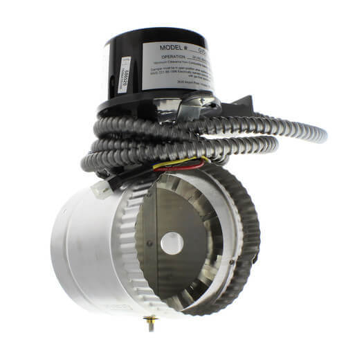 "5"" Automatic Vent Damper for 204, IN4 Boilers Product Image"