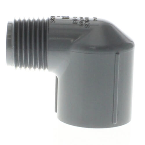 """1/2"""" MPT x 1/2"""" FPT CPVC Schedule 80 90° Street Elbow Product Image"""