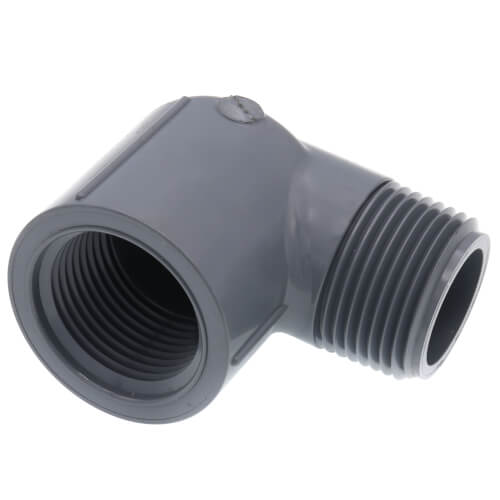 """3/4"""" MPT x 3/4"""" FPT CPVC Schedule 80 90° Street Elbow Product Image"""