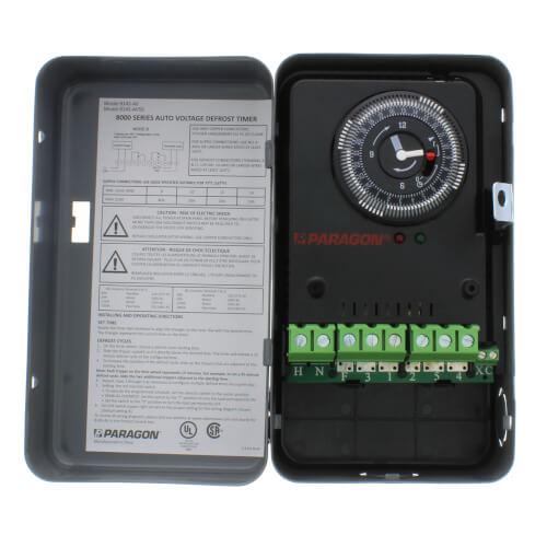 Auto Voltage Defrost Timer on