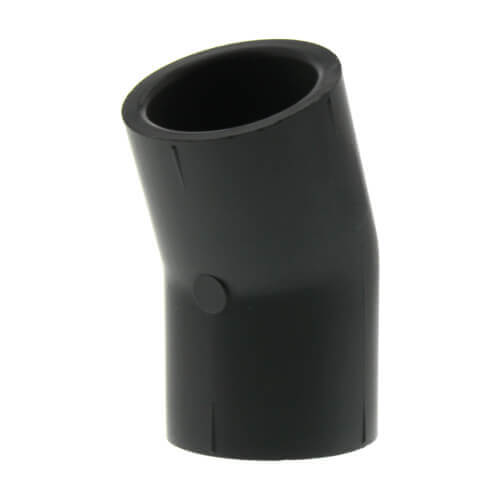 "2-1/2"" Socket CPVC Schedule 80 22.5° Elbow Product Image"