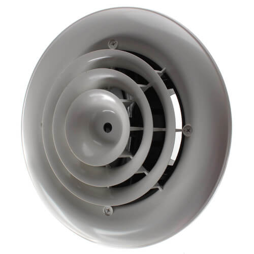 Mv360s Ceiling Diffuser W Round Grille 6 X 6
