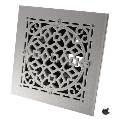 "MVASW Ceiling Diffuser w/ Antique White Grille (6"" x 6"") Product Image"