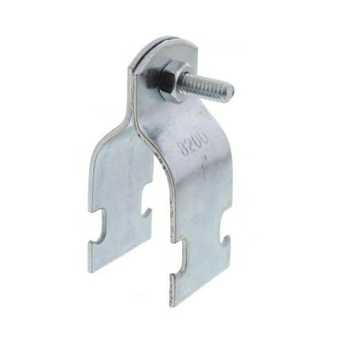 "1"" Electro-Galvanized Multi-Strut Pipe Clamp Product Image"