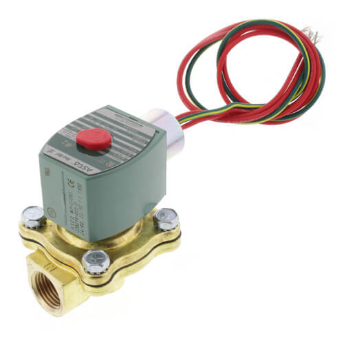 """1/2"""" Normally Closed Solenoid Valve, 4 CV (24v) Product Image"""