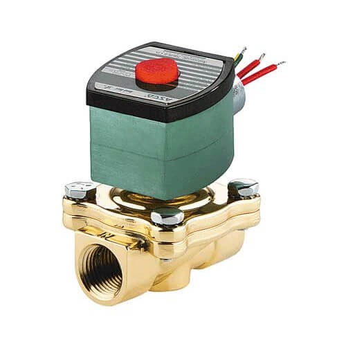 "2"" Normally Open Solenoid Valve (24v) Product Image"