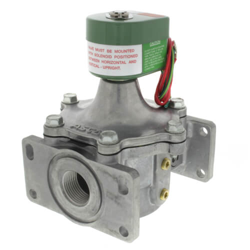 """1"""" 2-Way Normally Closed Gas Solenoid Valve (1,132,300 BTU) Product Image"""