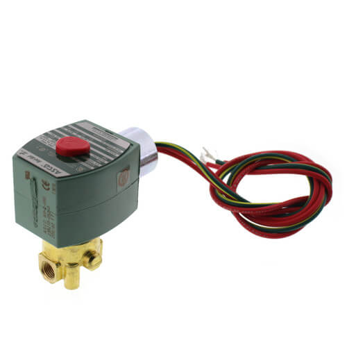 """1/8"""" Normally Closed Solenoid Valve (208v) Product Image"""