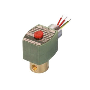"1/4"" Normally Closed Solenoid Valve w/ Teflon Trim (120v) Product Image"