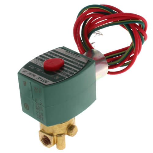 """1/8"""" Normally Closed Solenoid Valve (240v) Product Image"""