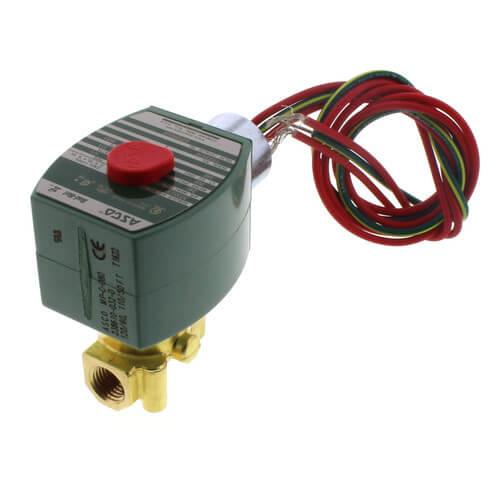 """1/4"""" Normally Closed Solenoid Valve (120v) Product Image"""