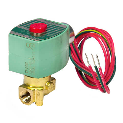 "1/4"" Normally Closed Solenoid Valve, .73 CV (24v) Product Image"
