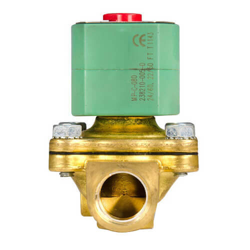 "3/8"" NPT Normally Closed 2-Way Solenoid Valve (120/60AC) Product Image"