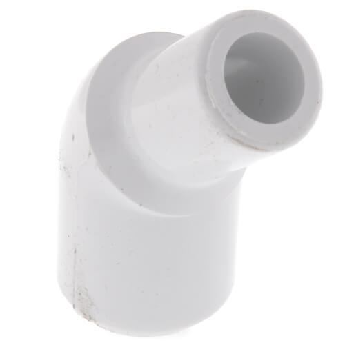 "1/2"" Spigot x 1/2"" Socket CPVC Schedule 80 45° Street Elbow Product Image"