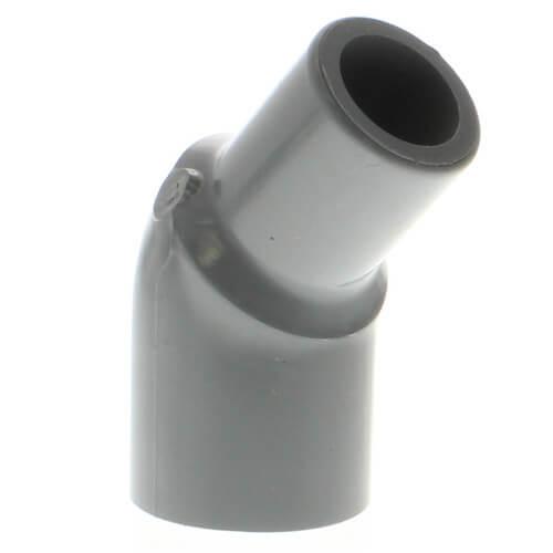 "3/4"" Spigot x 3/4"" Socket CPVC Schedule 80 45° Street Elbow Product Image"