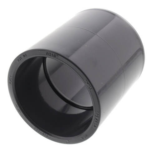 """2"""" PVC Schedule 80 Coupling Product Image"""