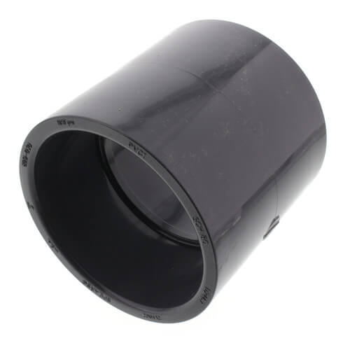 """3"""" PVC Schedule 80 Coupling Product Image"""