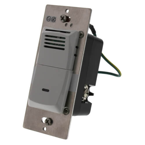 Humidity Sensing Wall Control (White) Product Image