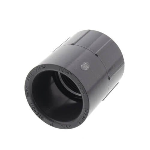"1"" PVC Schedule 80 Female Adapter (S x FPT) Product Image"