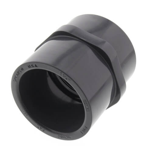 """1-1/4"""" PVC Schedule 80 Female Adapter (S x FPT) Product Image"""