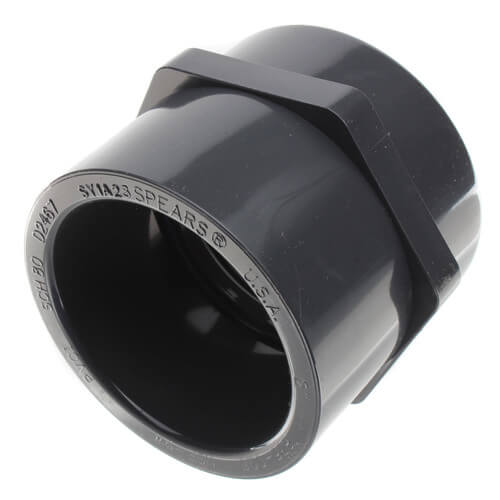 "2"" PVC Schedule 80 Female Adapter (S x FPT) Product Image"