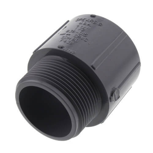 """3"""" CPVC Schedule 80 Male Adapter (MPT x Socket) Product Image"""