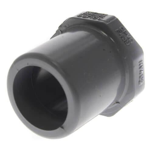 "3/4"" x 1/2"" CPVC Schedule 80 Flush Style Reducer Bushing (Spigot x Socket) Product Image"