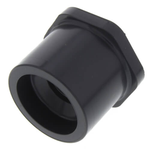 """1-1/4"""" x 1/2"""" PVC Schedule 80 Reducer Bushing (SPG x S) Product Image"""