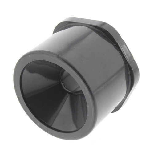 """2"""" x 1/2"""" PVC Schedule 80 Reducer Bushing (SPG x S) Product Image"""