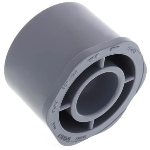 "2"" x 3/4"" CPVC Schedule 80 Flush Style Reducer Bushing (Spigot x Socket) Product Image"
