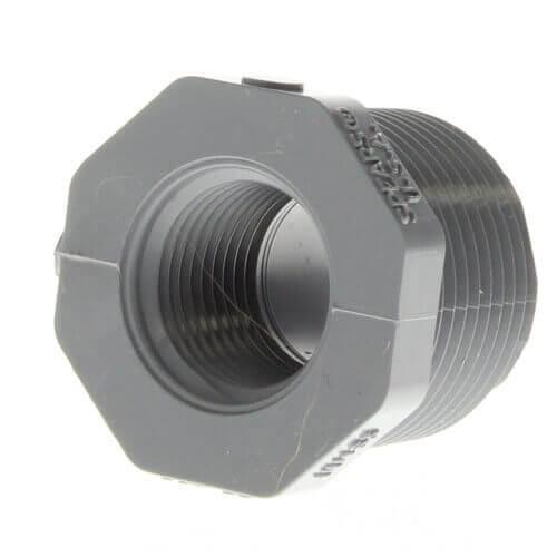 "1/2"" x 3/8"" CPVC Schedule 80 Flush Style Reducer Bushing (MIPT x FIPT) Product Image"