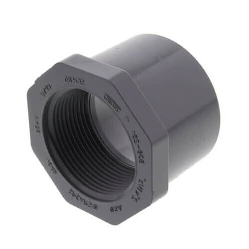 "3/4"" x 3/8"" CPVC Schedule 80 Flush Style Reducer Bushing (MIPT x FIPT) Product Image"