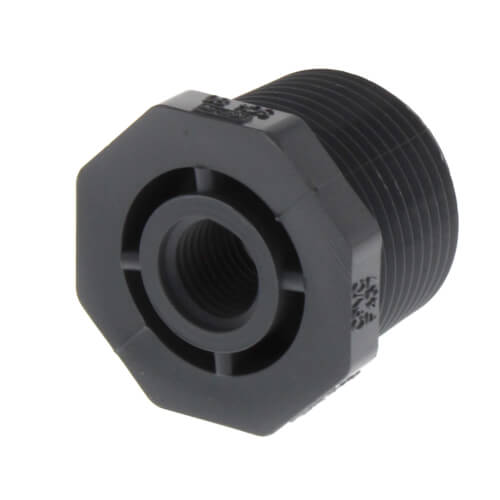 "1"" x 1/4"" CPVC Schedule 80 Flush Style Reducer Bushing (MIPT x FIPT) Product Image"