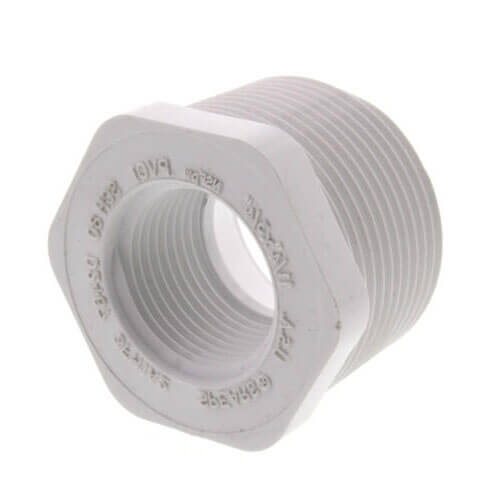 "1-1/4"" x 3/4"" CPVC Schedule 80 Flush Style Reducer Bushing (MIPT x FIPT) Product Image"