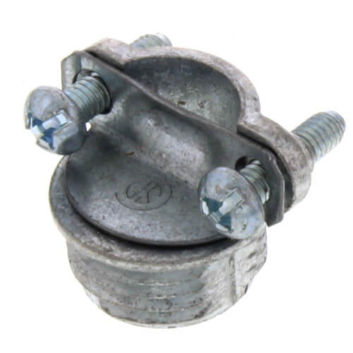 """3/8"""" Non-Metallic Cable Connector Product Image"""