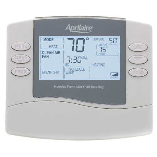 Universal Programmable Thermostat w/ Event-Based Air Cleaning (5/2 or 5/1/1 Day) Product Image