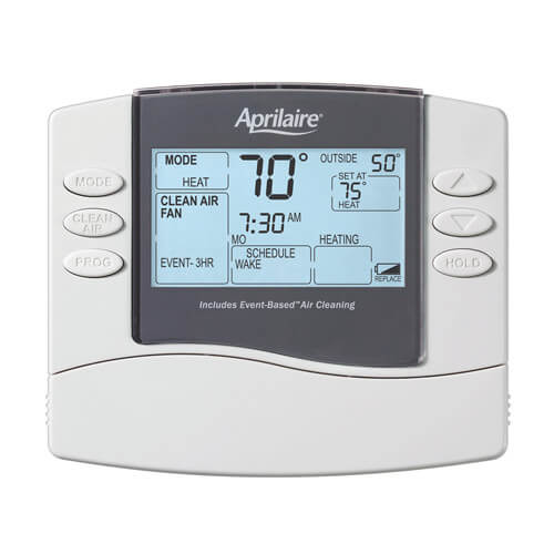 Universal Programmable Thermostat w/ Event-Based Air Cleaning (Wi-Fi) Product Image