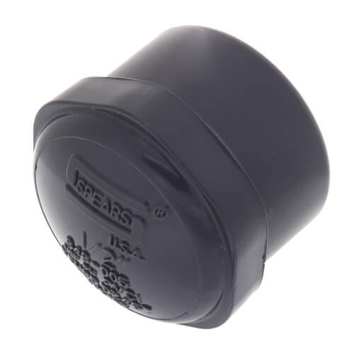 """1/2"""" PVC Schedule 80 Cap (FPT) Product Image"""