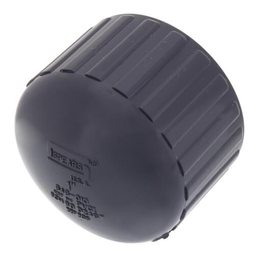 """1"""" PVC Schedule 80 Cap (FPT) Product Image"""