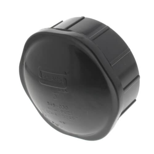 """3"""" PVC Schedule 80 Cap (FPT) Product Image"""
