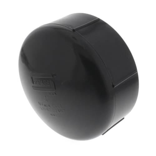 """4"""" PVC Schedule 80 Cap (FPT) Product Image"""