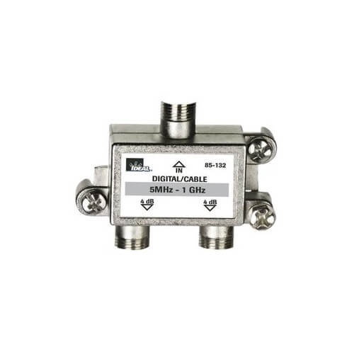 High Performance 2-Way Cable Splitter (5MHz-1GHz) Product Image