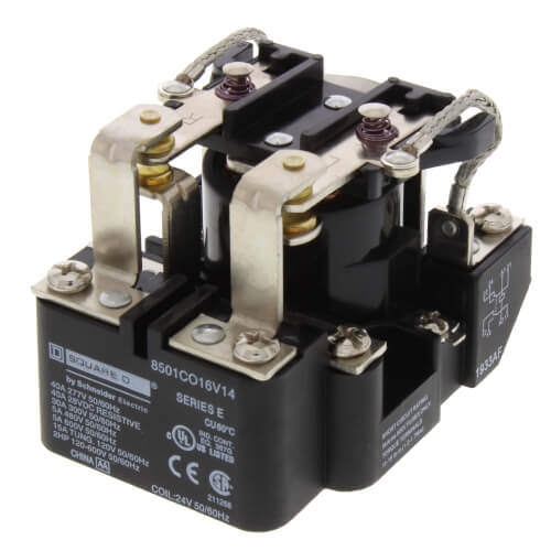 24V 30A DPDT Power Relay Product Image