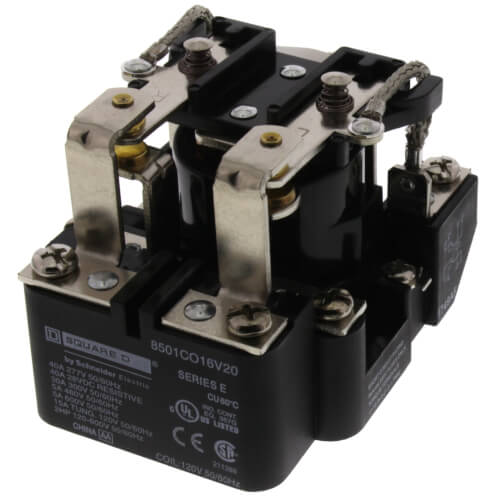 DPDT Power Relay, 30A (120V) Product Image