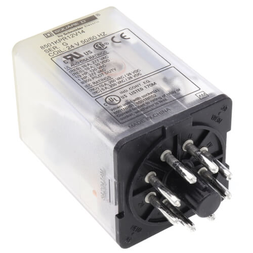 24V 10A DPDT General Purpose Relay Product Image