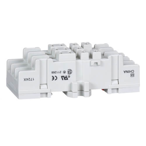 11 Pin Relay Socket, Blade, Double Tier, for 8510K Relays Product Image