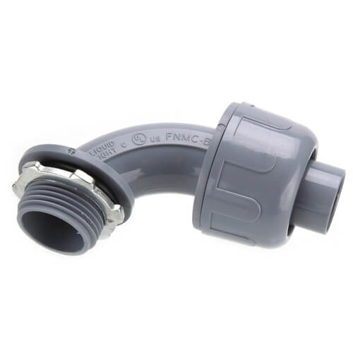 """3/4"""" 90° Non-Metallic Connector Product Image"""