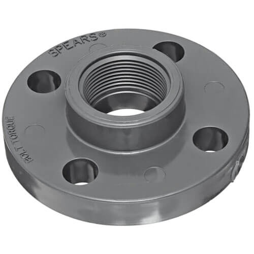 """3/4"""" Sch. 80 One Piece Flange (FPT) Product Image"""