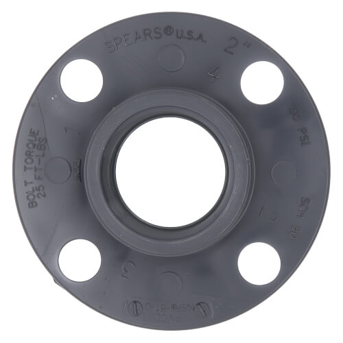 """2"""" Sch. 80 One Piece Flange (FPT) Product Image"""